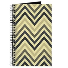 Modern Chevron Stripes Journal