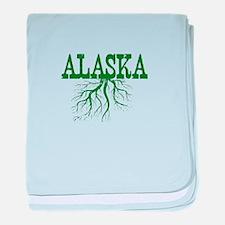 Alaska Roots baby blanket