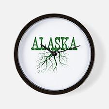 Alaska Roots Wall Clock