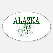 Alaska Roots Sticker (Oval)