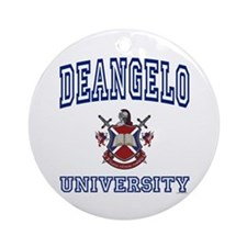 DEANGELO University Ornament (Round)