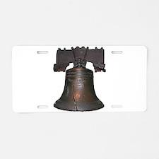 liberty bell Aluminum License Plate