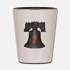 liberty bell Shot Glass