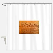 US Constitution Shower Curtain