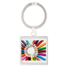 Colored Pencils Keychains