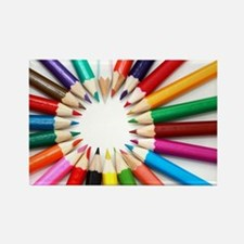 Colored Pencils Magnets
