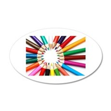 Colored Pencils Wall Decal