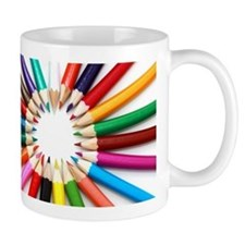 Colored Pencils Mugs