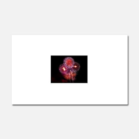 Fireworks Car Magnet 20 x 12