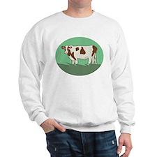 Grazing Cow Sweatshirt