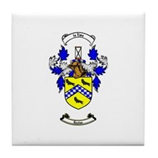 HUSTON Coat of Arms Tile Coaster