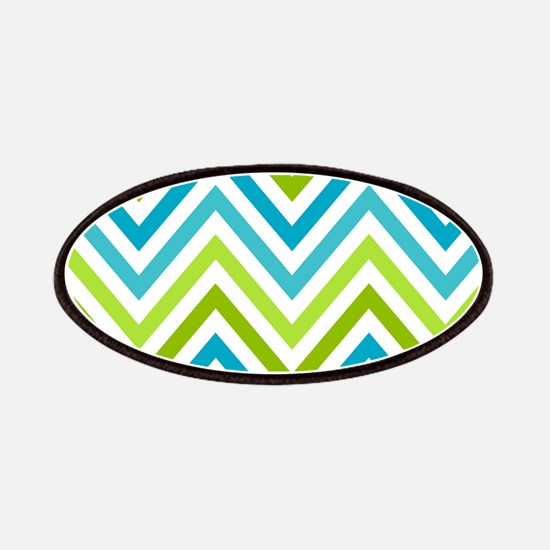 Modern Chevron Stripes Patches
