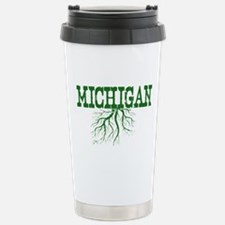 Michigan Roots Stainless Steel Travel Mug