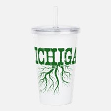Michigan Roots Acrylic Double-wall Tumbler