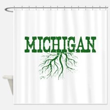 Michigan Roots Shower Curtain