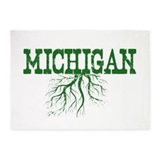 Michigan Roots 5'x7'Area Rug