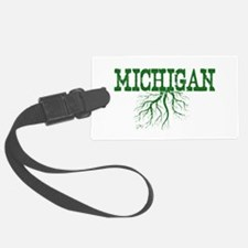 Michigan Roots Luggage Tag