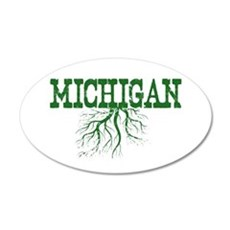 Michigan Roots Wall Decal