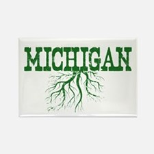 Michigan Roots Rectangle Magnet
