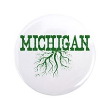 """Michigan Roots 3.5"""" Button (100 pack)"""
