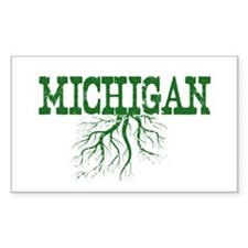 Michigan Roots Decal