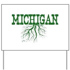 Michigan Roots Yard Sign