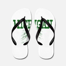 Michigan Roots Flip Flops