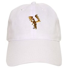 Golden Dragon Baseball Baseball Cap