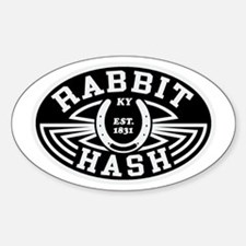 Rabbit Hash Sticker (oval)