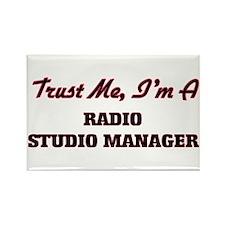 Trust me I'm a Radio Studio Manager Magnets