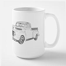 1950 Ford F1 Large Mug