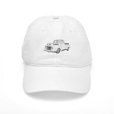 1950 Ford F1 Baseball Baseball Cap