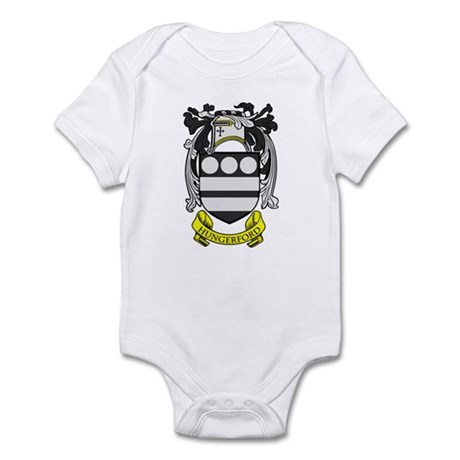 HUNGERFORD Coat of Arms Infant Bodysuit