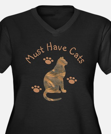 Must Have Cats 111 Plus Size T-Shirt