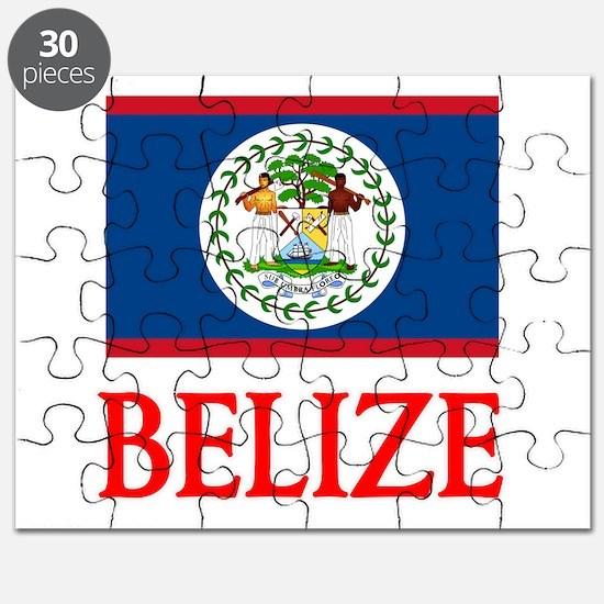 Belize Flag Design Puzzle