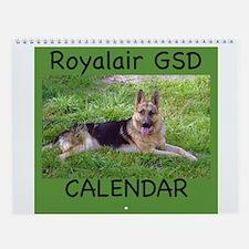 GERMAN SHEPHERD Wall Calendar