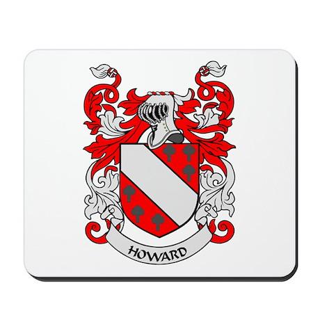 HOWARD Coat of Arms Mousepad