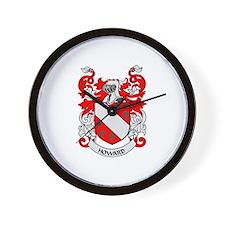 HOWARD Coat of Arms Wall Clock