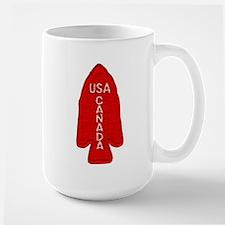1st Special Service Force Large Mug Mugs