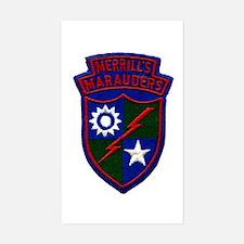 Merrill's Marauders Sticker (Rectangle)