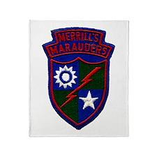 Merrill's Marauders Throw Blanket
