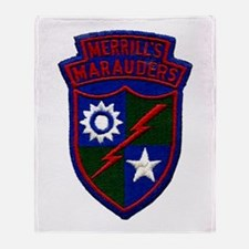 Merrill's Marauders Throw Blanket