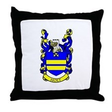 HOLT Coat of Arms Throw Pillow