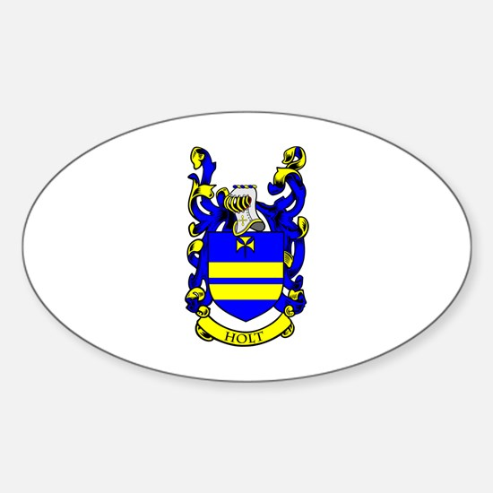 HOLT Coat of Arms Oval Decal