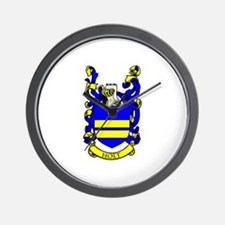 HOLT Coat of Arms Wall Clock