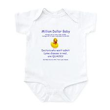Million Dollar Baby Infant Bodysuit