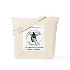 Vitruvian Tick Tote Bag