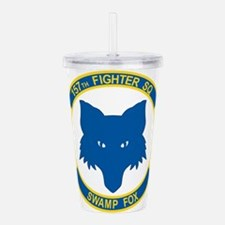 157_fighter_SWAMP_FOX. Acrylic Double-wall Tumbler