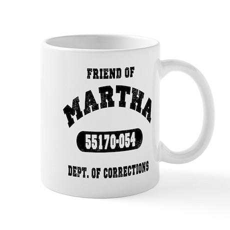 Friend of Martha Mug