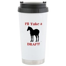Funny Shire horse Travel Mug